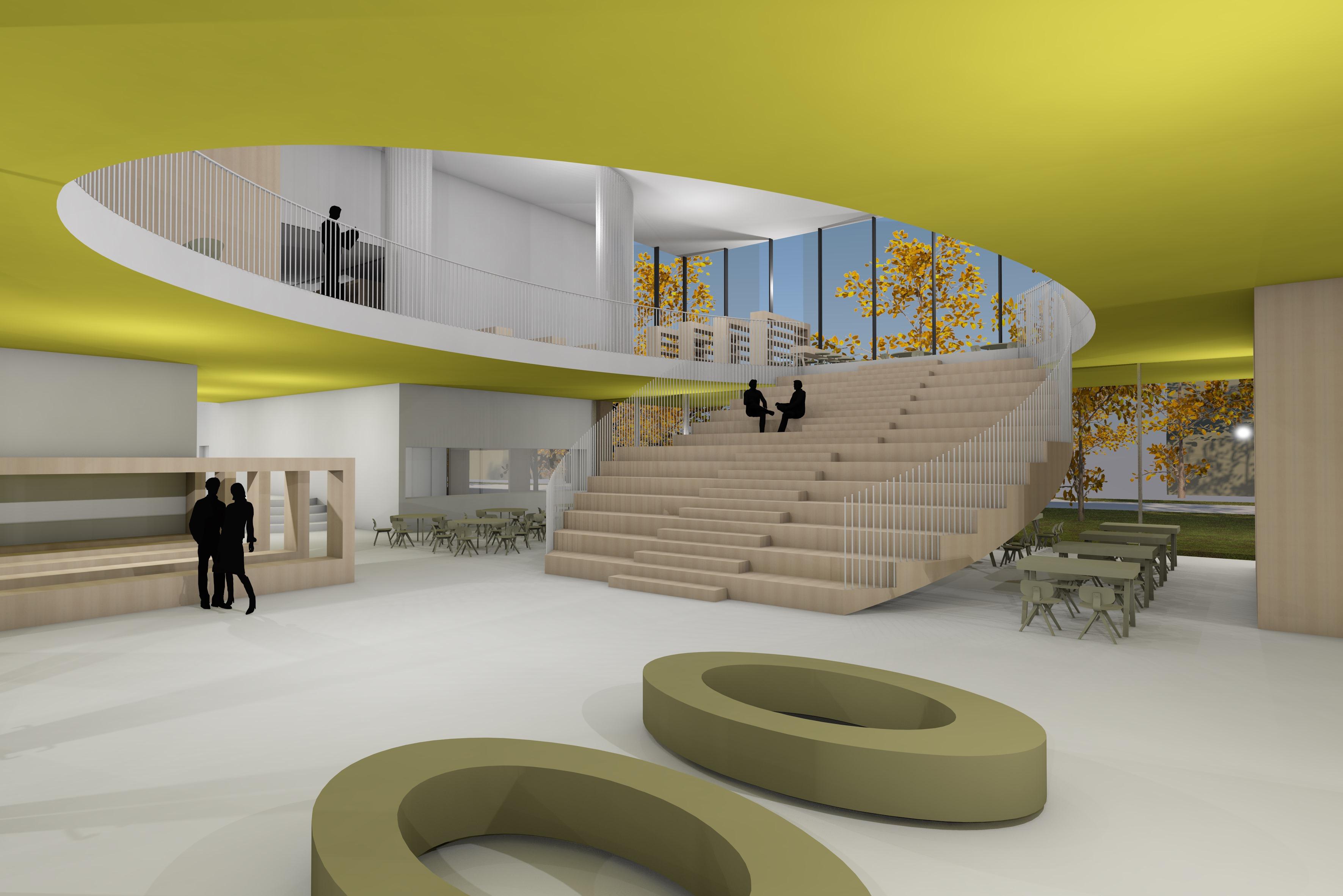 Saaremaa Gümnaasiumi arhitektuurikonkursi võitja
