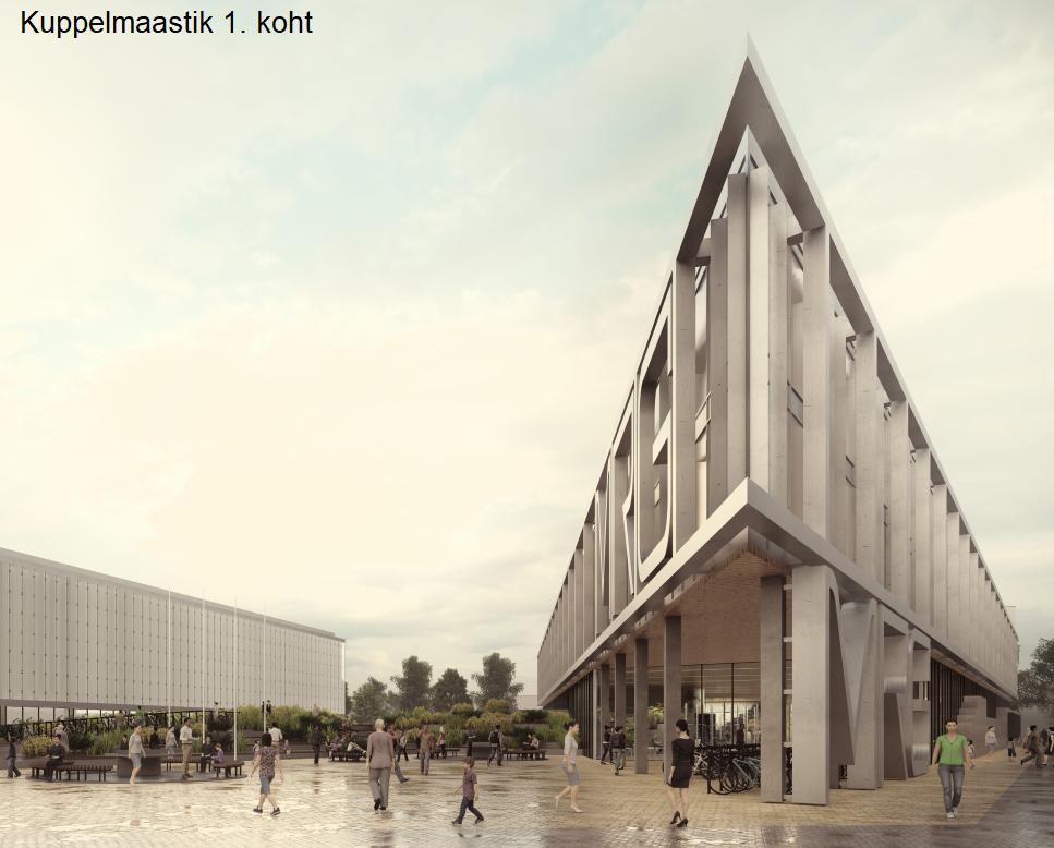 Mustamäe riigigümnaasiumi arhitektuurikonkursi võitja