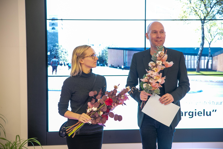 Võidutöö Pargielu autorid Maarja Kask, Ralf Lõoke