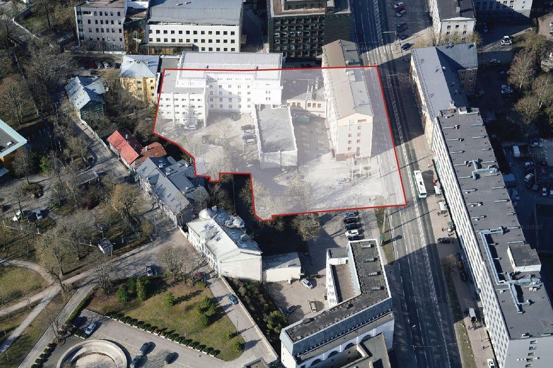 Tõnismäe riigigümnaasiumi arhitektuurikonkurss