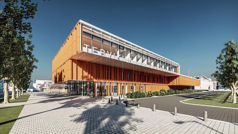 Viljandi haigla ja tervisekeskust Tervikum ehitab Fund Ehitus