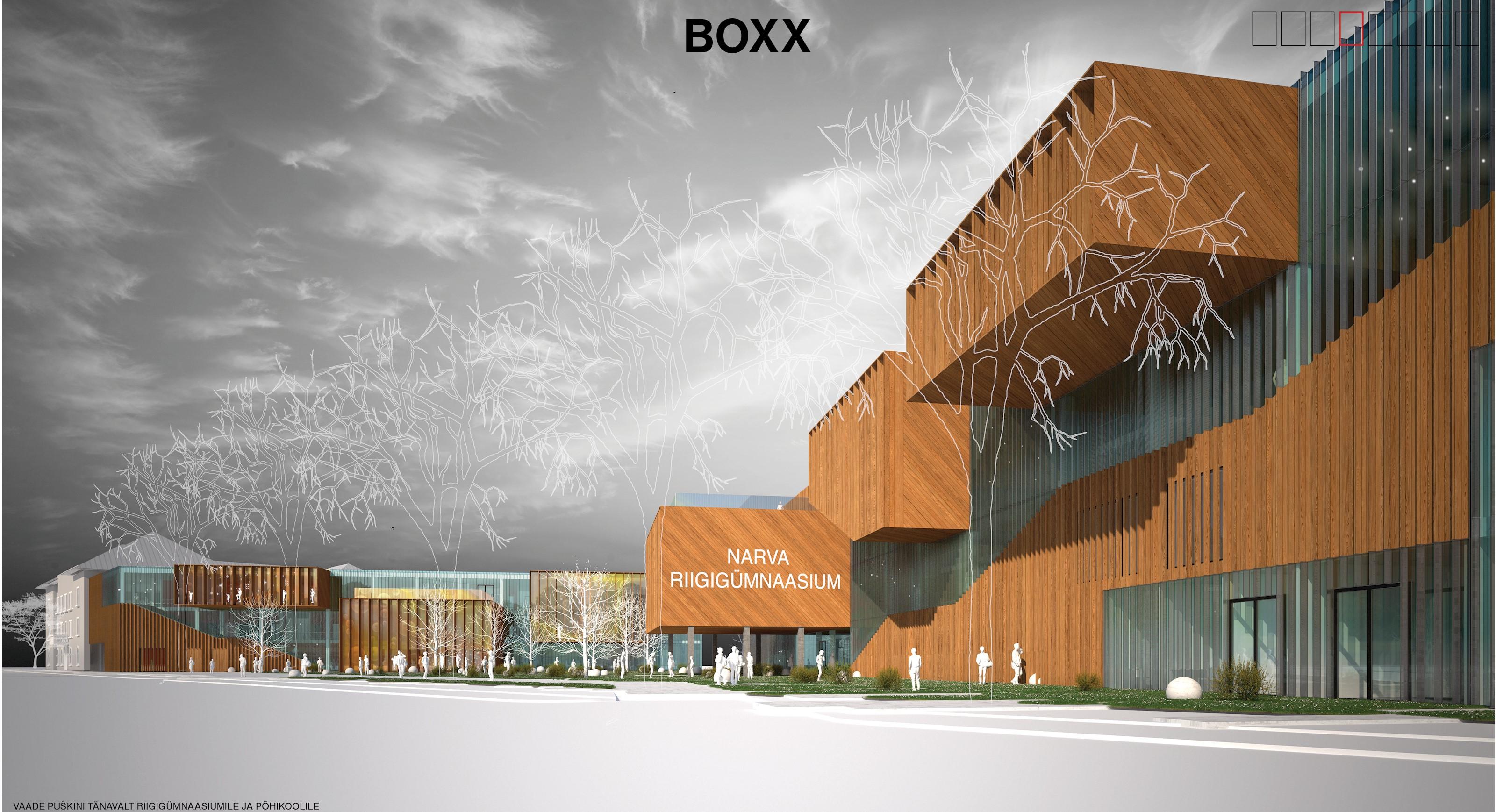 Riigi Kinnisvara AS: kavand Boxx