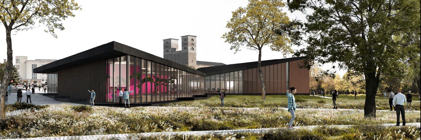 Rakvere riigigümnaasiumi arhitektuurikonkursi võidutööd