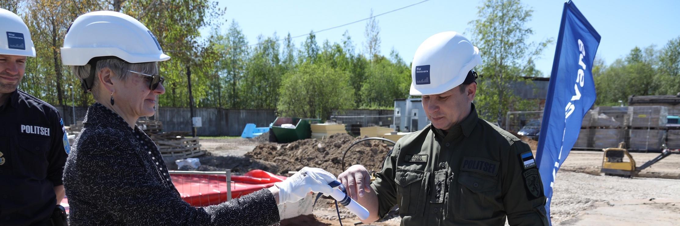 Narva kordoni teenistuskoerte hoone ja harjutusväljak