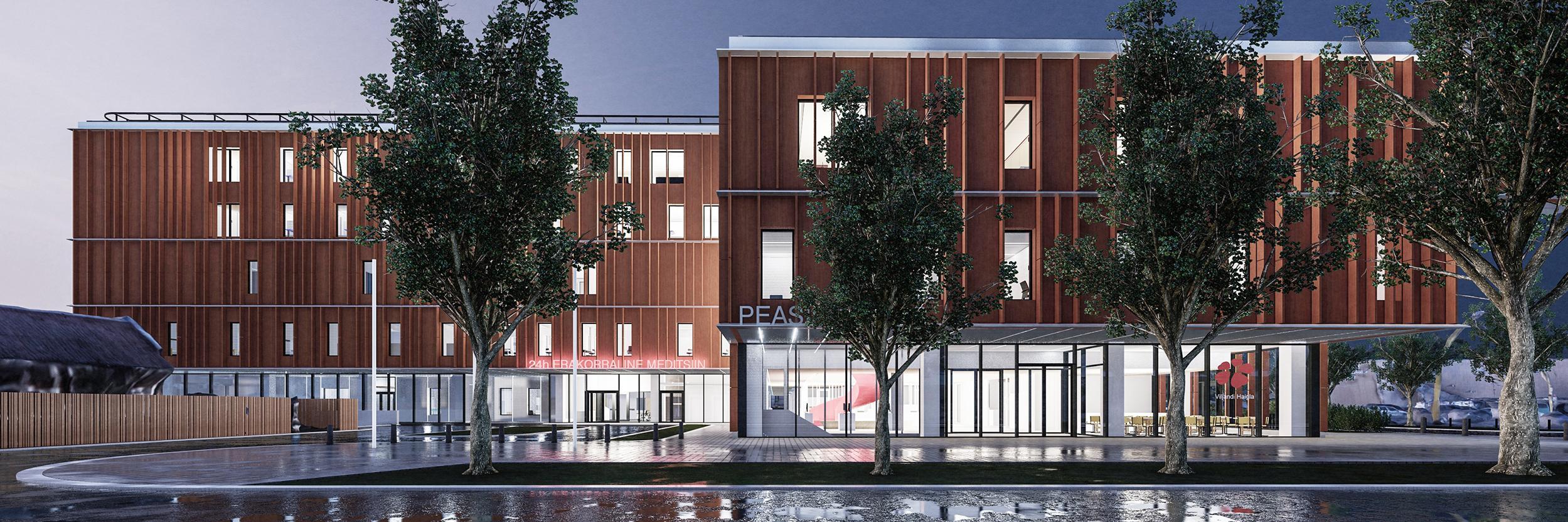 Viljandi uue haigla ja tervisekeskuse ehitusleping
