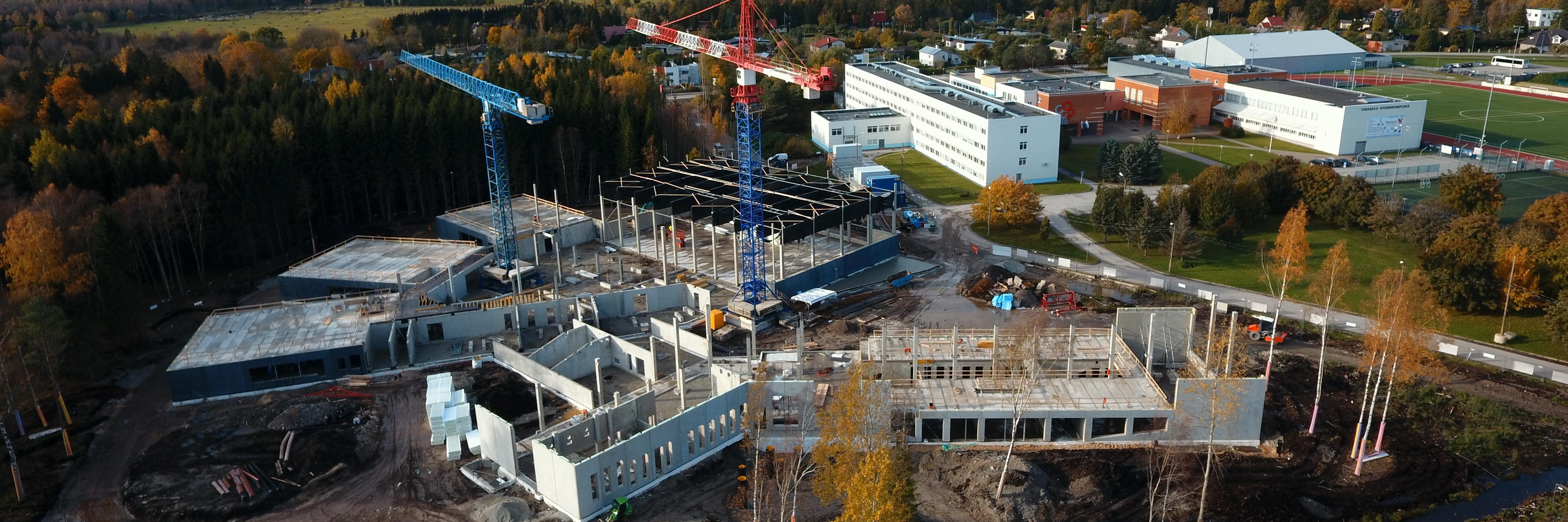 Järgmisel sügisel valmiv Tabasalu haridushoonete kompleks sai pidulikult nurgakivi