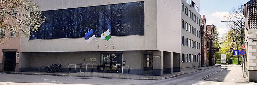 Pärnu riigimaja Akadeemia tänaval otsib konkursiga kunstiteost